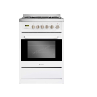 NEW! PARMCO 60CM AR600-W GAS ELECTRIC COOKER WHITE